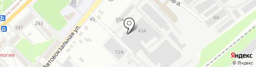 Юпласт на карте Орла