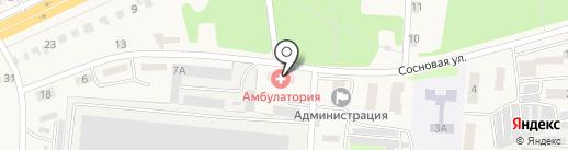 Ворошневская врачебная амбулатория на карте Ворошнево