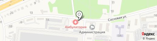 Аптека-форте на карте Ворошнево