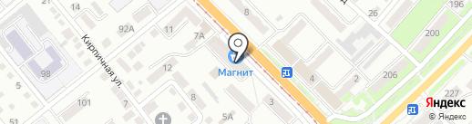 Электроник на карте Орла