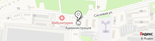 Сбербанк, ПАО на карте Ворошнево
