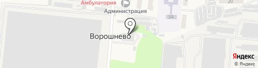 Сейм-Агро на карте Ворошнево
