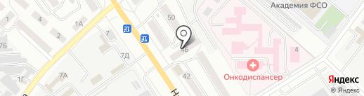 Участковый пункт полиции №5 на карте Орла