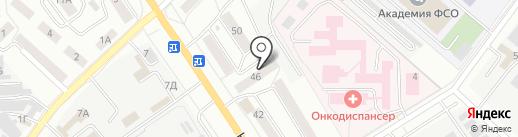 Эврика на карте Орла