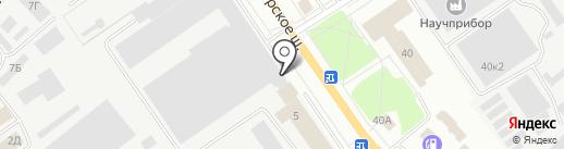 ОЛСАН на карте Орла