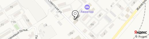 Копеечка на карте Воротынска