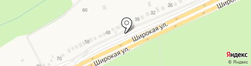 Магазин продуктов на карте Ворошнево