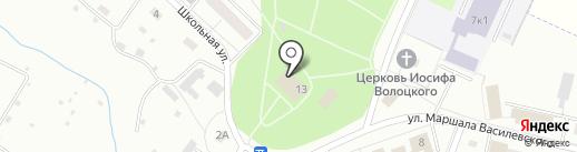 Библиотека им. А.И. Герцена на карте Сахарово