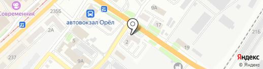 Синергия на карте Орла