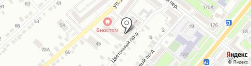 Орловский Каравай на карте Орла