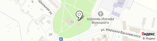 Магазин по продаже печатной продукции на карте Сахарово