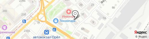 Хозтовары & Стройматериалы на карте Орла