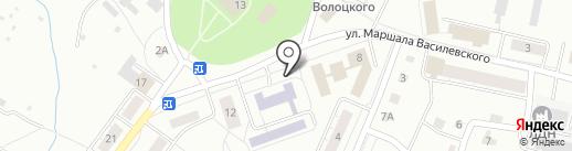 Магазин промтоваров на карте Сахарово