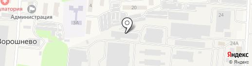 МРТК на карте Ворошнево