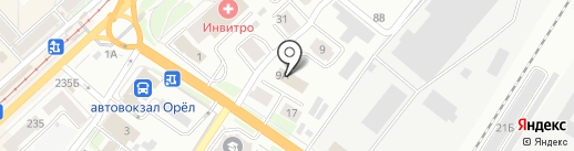 Траст на карте Орла