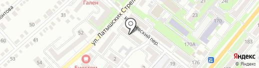 Орловская городская газета на карте Орла