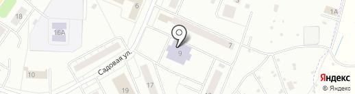 Научная библиотека на карте Сахарово