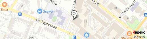Лилия на карте Орла