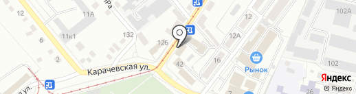 AutoЛИГА на карте Орла