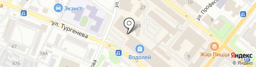 Каблучок на карте Орла