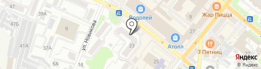 Орловский гомеопатический центр на карте Орла