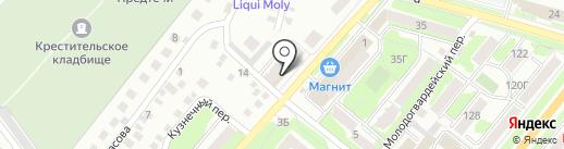 Резерв-АВТО на карте Орла