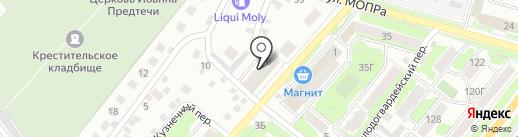 Лиза на карте Орла