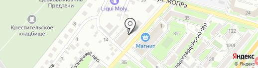 Форт на карте Орла