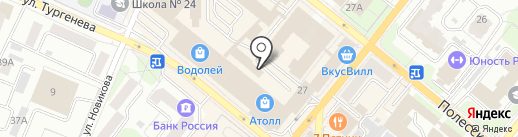 Орловская государственная инспекция пробирного надзора на карте Орла