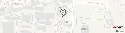 ТРУБО-ПЛАСТ на карте Ворошнево