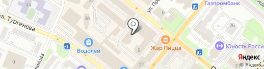 IML на карте Орла