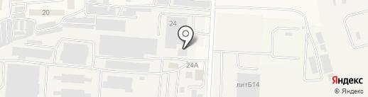 Багот на карте Ворошнево