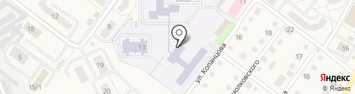 Средняя общеобразовательная школа №1 на карте Воротынска