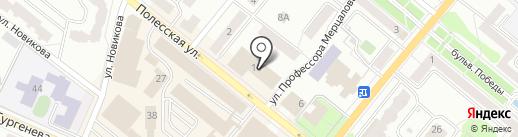 СанДОР на карте Орла