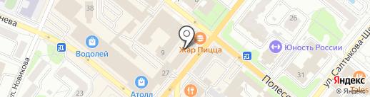 Жар-Пицца на карте Орла