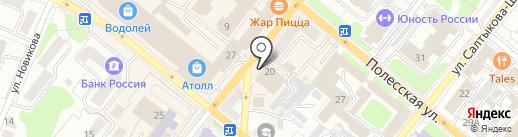 НБ Траст, ПАО на карте Орла