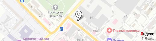 Амадеус на карте Орла