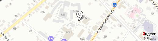 ВЕСТА на карте Орла