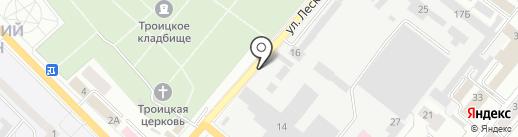 АвтоСтар на карте Орла
