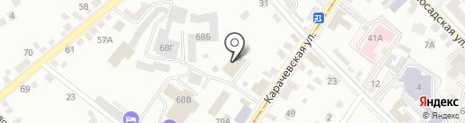 Паркет-Маркет на карте Орла