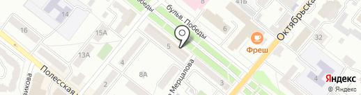 Почтовое отделение №28 на карте Орла