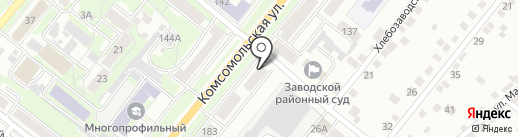 Нотариус Косов В.Н. на карте Орла