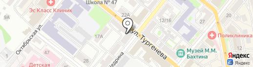 ОРЕЛСАЙТ на карте Орла
