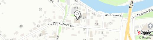 Баня №2 на карте Орла