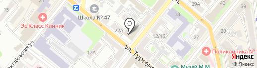 СтроГал на карте Орла