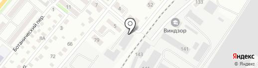 Аква Мир на карте Орла