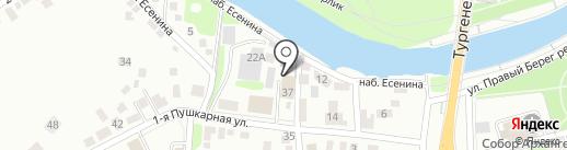 Специализированный приемник, Управление МВД России по Орловской области на карте Орла