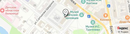 Городская клининговая компания на карте Орла