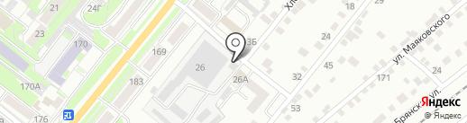 Мастерская по ремонту обуви на карте Орла