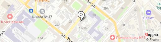 Айвори на карте Орла